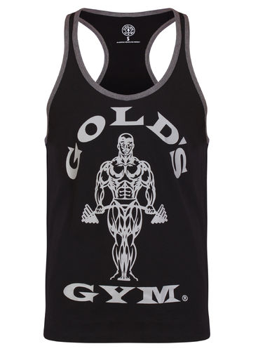 Gold's Gym Muscle Joe Contrast Stringer Vest