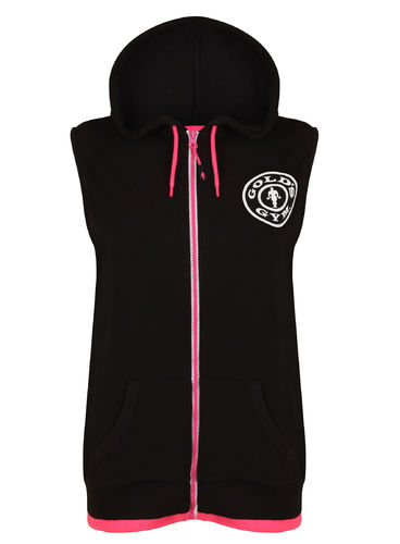 Gold's Gym Muscle Joe Ladies Sleeveless Hoodie