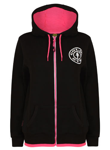 Gold's Gym Ladies Muscle Joe Zip Hoodie