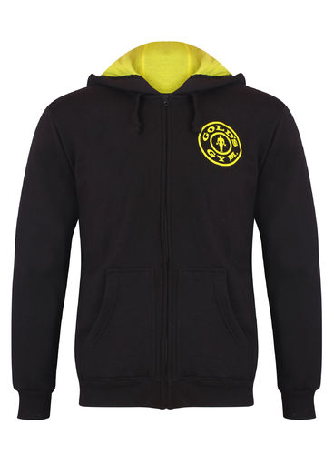 Gold's Gym Muscle Joe Zip Huppari