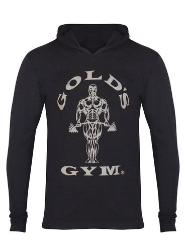 Gold's Gym Muscle Joe Hooded T-shirt Pitkähihainen T-paita