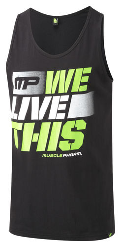 MusclePharm We Live This-paita